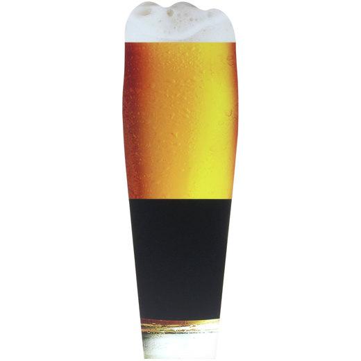 Kreidetafel Bier zum beschreiben mit Kreide Wandtafel Bierglas