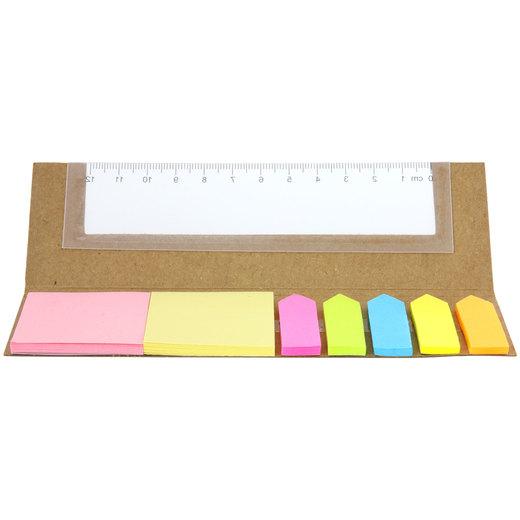 Buntstifte BREVE kurz 6 Stück mit Druck auf Karton Werbedruck 1-farbig
