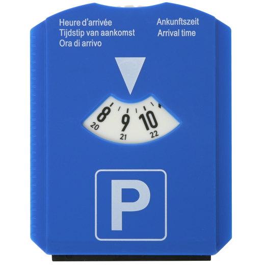 Parkscheibe Parkuhr PVC mit Druck 4-farbig mit Logo Werbung ab 10 Stück